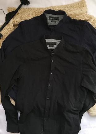 Стильная рубашка zara, размер s-m, рубашка на осень