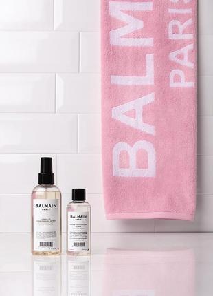 Полотенце balmain towel pastel pink