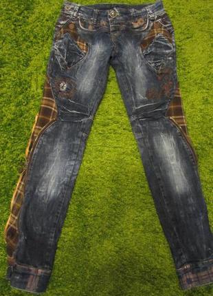 Модні жіночі джинси-скіни