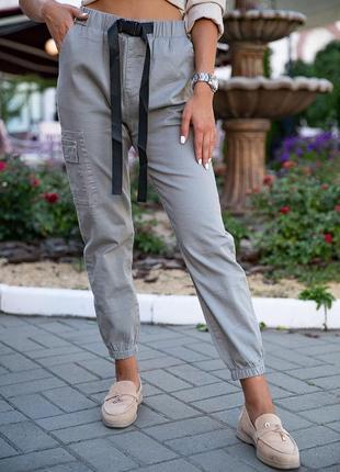 Джоггеры / брюки на высокой посадке / спортивные штаны / мом / джогеры