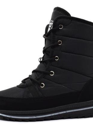 Ботинки сапоги женские черные (пм-3120)