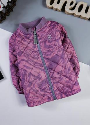 Демисезонная стеганная куртка на 1 год/80 см.