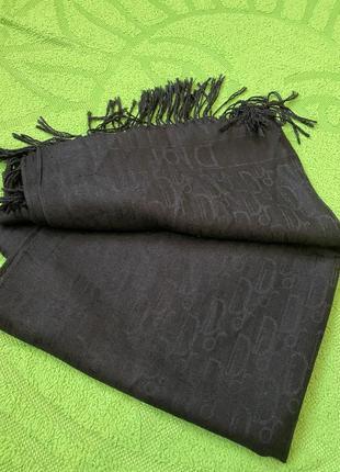 Монограммный шарф cristian dior