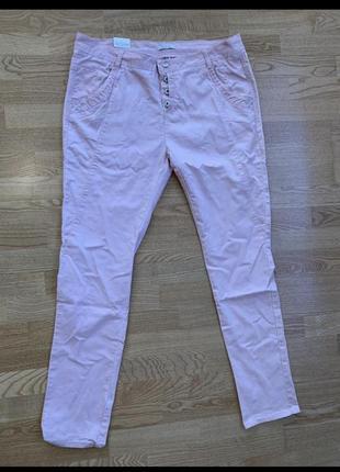 Пудрові джинси, м'які, батал5 фото