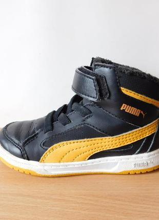 Класные ботинки puma 25 р. стелька 16,3 см