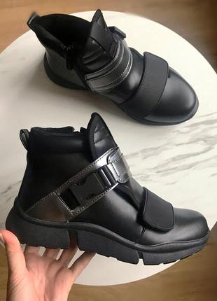 Демисезонные ботинки для девочки,р.34,372 фото
