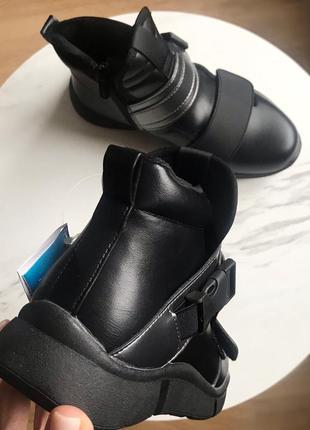 Демисезонные ботинки для девочки,р.34,376 фото