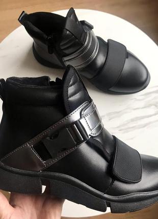 Демисезонные ботинки для девочки,р.34,373 фото