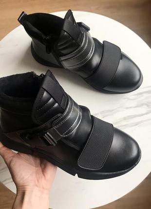 Демисезонные ботинки для девочки,р.34,375 фото