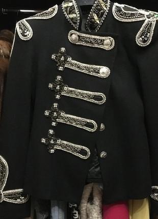 Пальто. пиджак balmain