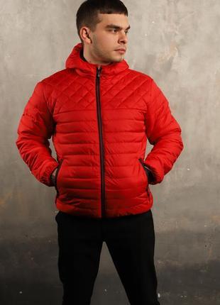 Мужская осенняя куртка с капюшоном  / чоловіча осіння куртка