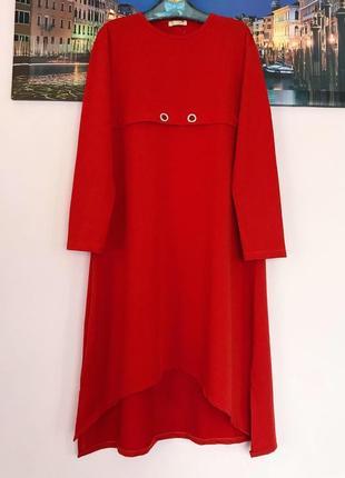 Крутое платье туника , платье свитер