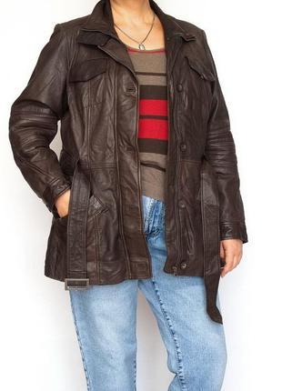 Кожаная куртка, yessica, германия. овечья кожа.