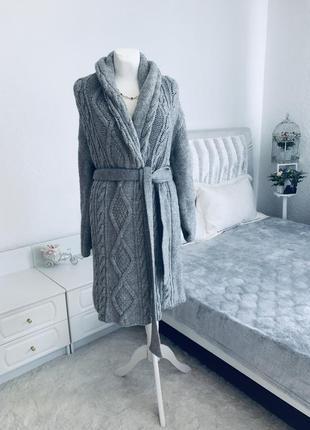 Шерстяное оверсайз пальто кардиган премиум бренда joseph италия 🇮🇹