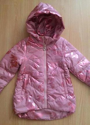 Осенняя стильная курточка лля маленьких модниц