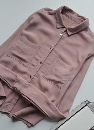 🌷🛍-50 % на другий товар 🌷🛍блуза пудрового кольору new look