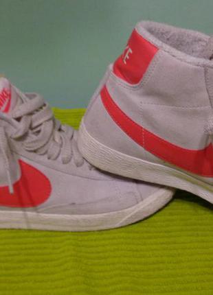 Кроссовки замшевые nike sport shoes are manufactured (100% оригинал)