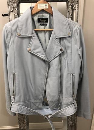 Куртка косуха, stradivarius, кожа