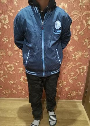 Бомпер ветровка куртка 164р