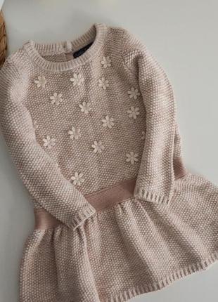 Теплое платье на 12-18мес
