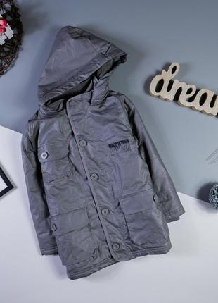 Демисезонная, тёплая куртка на 6 лет/114 см