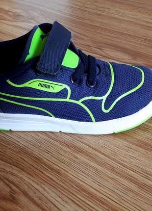 Крутые яркие фирменные кроссовки puma р.24 отличное состояние