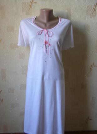 Ringella платье для сна и отдыха ночнушка хлопок-модал 16-размер