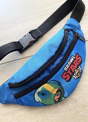 Бананка. детская сумка через плечо brawl stars