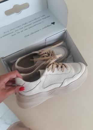 Шкіряні кросівки/ кожаные кроссовки