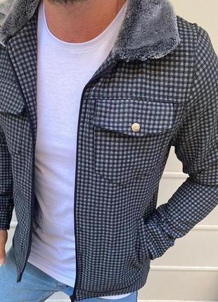 Куртка с мехом демисезон