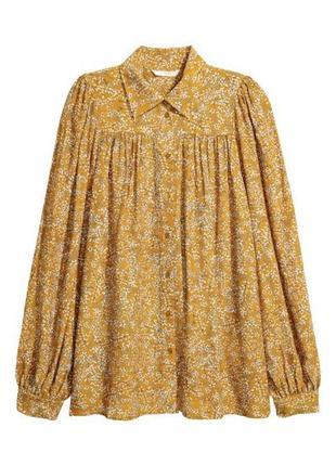Шифоновая блуза h&m, 42