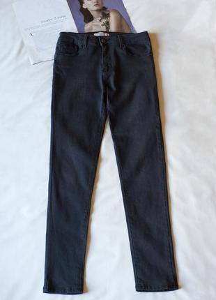 Темно серые джинсы скинни chicoree, размер s, m