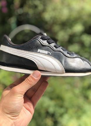 Puma шкіряні кросівки оригінал