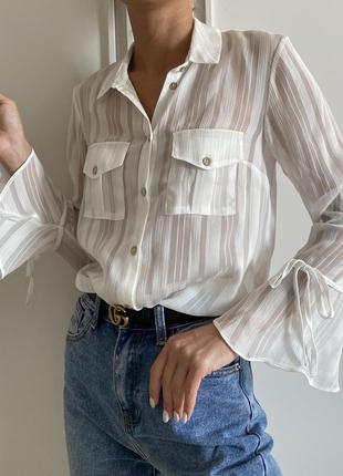 Очень красивая нежная блуза под винтаж lipsy