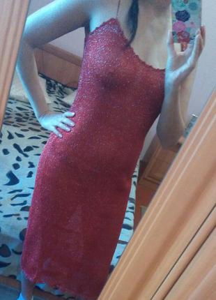 Летнее секси платье