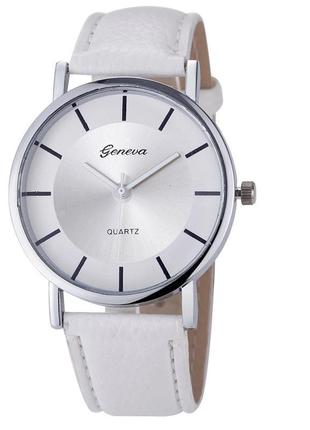 Часы наручные женские белые годинник
