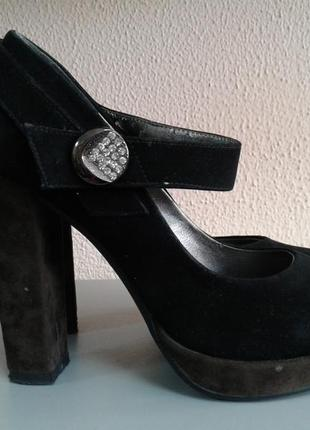 Туфли под замшу, размер 38