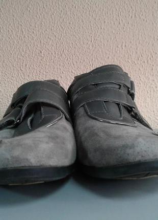 Замшевые кроссовки размер 363