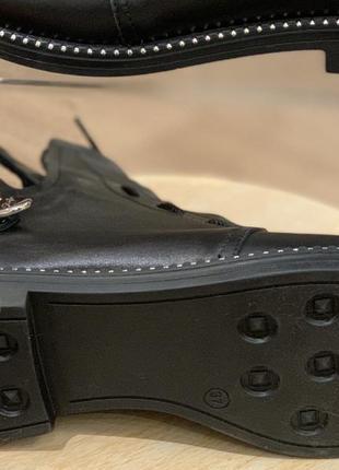 Ботинки женские демисезонные натуральная кожа10 фото