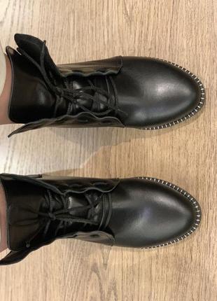Ботинки женские демисезонные натуральная кожа4 фото