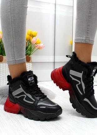 Тёплые зимние кроссовки