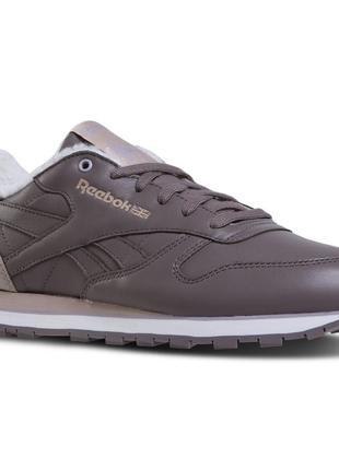 Женские кроссовки reebok classic leather sherpa dv5088