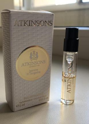 Atkinsons jasmine in tangerine парфюмированная вода