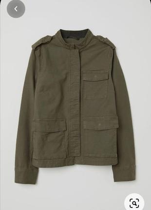 Куртка парка зеленая хаки зелена ветровка милитари вітровка курточка хакі карго