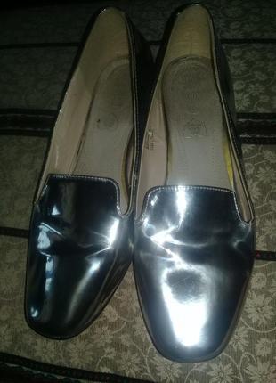 Супер блестящие балетки,туфли