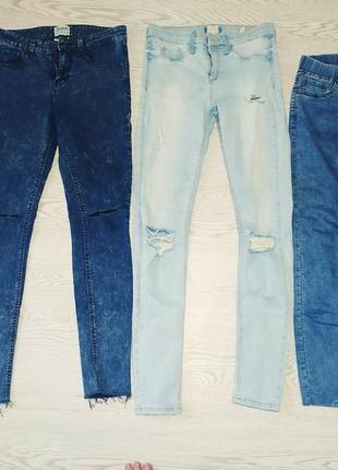 Лот джинс,джинсы одним лотом