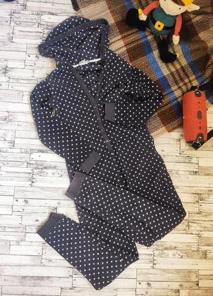 Кигуруми комбинезон пижама теплый звёздочки осень зима marks & spencer