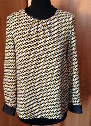 Блуза с длиннным рукавом бренда h&m р.38