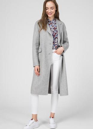 Шерстяное пальто tommy hilfiger