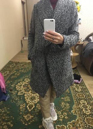 Пальто буклированное , h&m